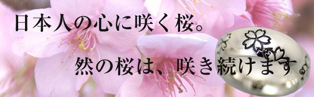桜 シルバーアクセサリー